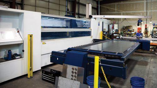 Laser cutting center, metal fabrication, turnkey fabrication, precision sheet metal, machining, hillsboro oregon, portland oregon, beaverton oregon