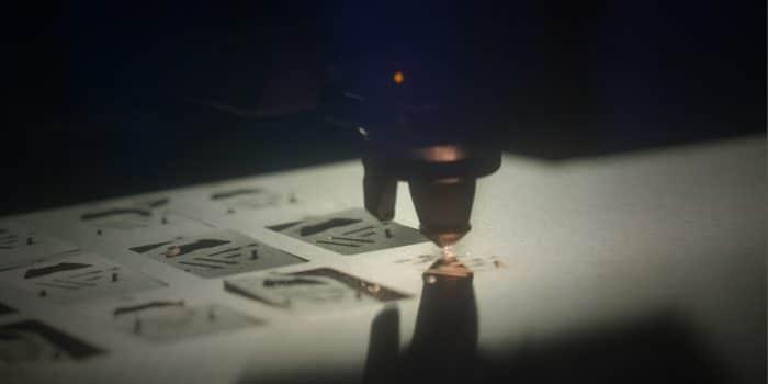 Laser Cutting Meta Fab Logo