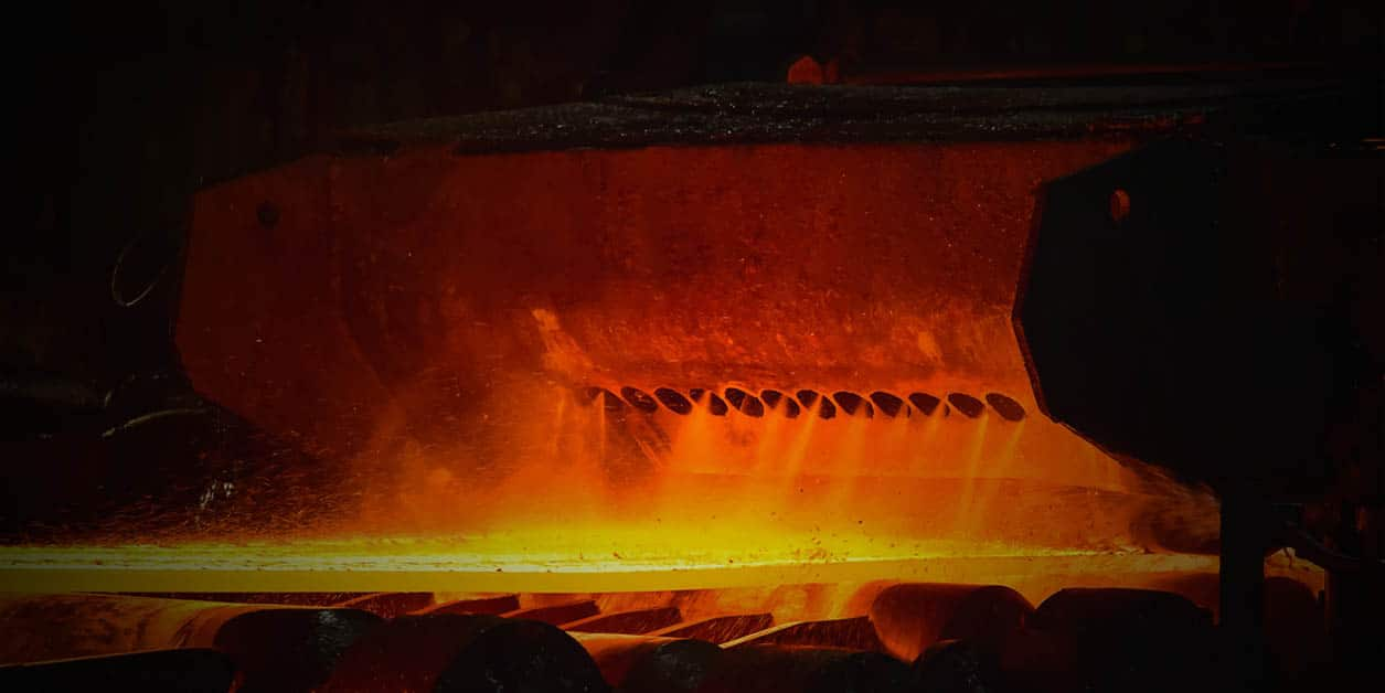 Molten Metal Forge used in Metal Fabrication Processes