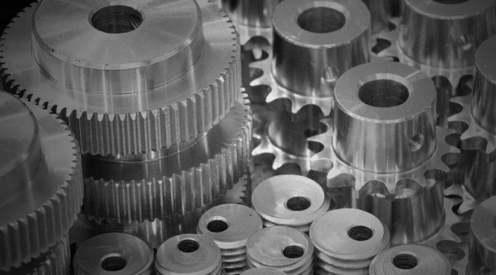 Chromated Machined Gears
